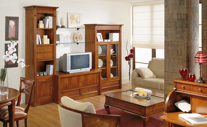 Muebles bidasoa en irun cerca de hondarribia lesaka o for Salones mezcla clasico moderno