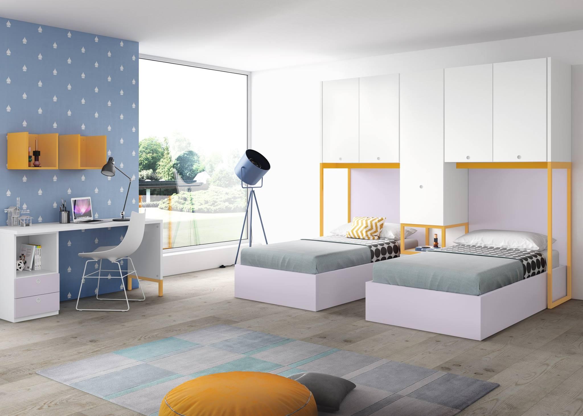 Muebles bidasoa en irun vende dormitorios de matrimonio for Dormitorio juvenil 2 camas