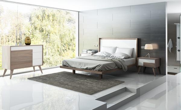 Muebles bidasoa en irun vende dormitorios de matrimonio for Dormitorios modernos