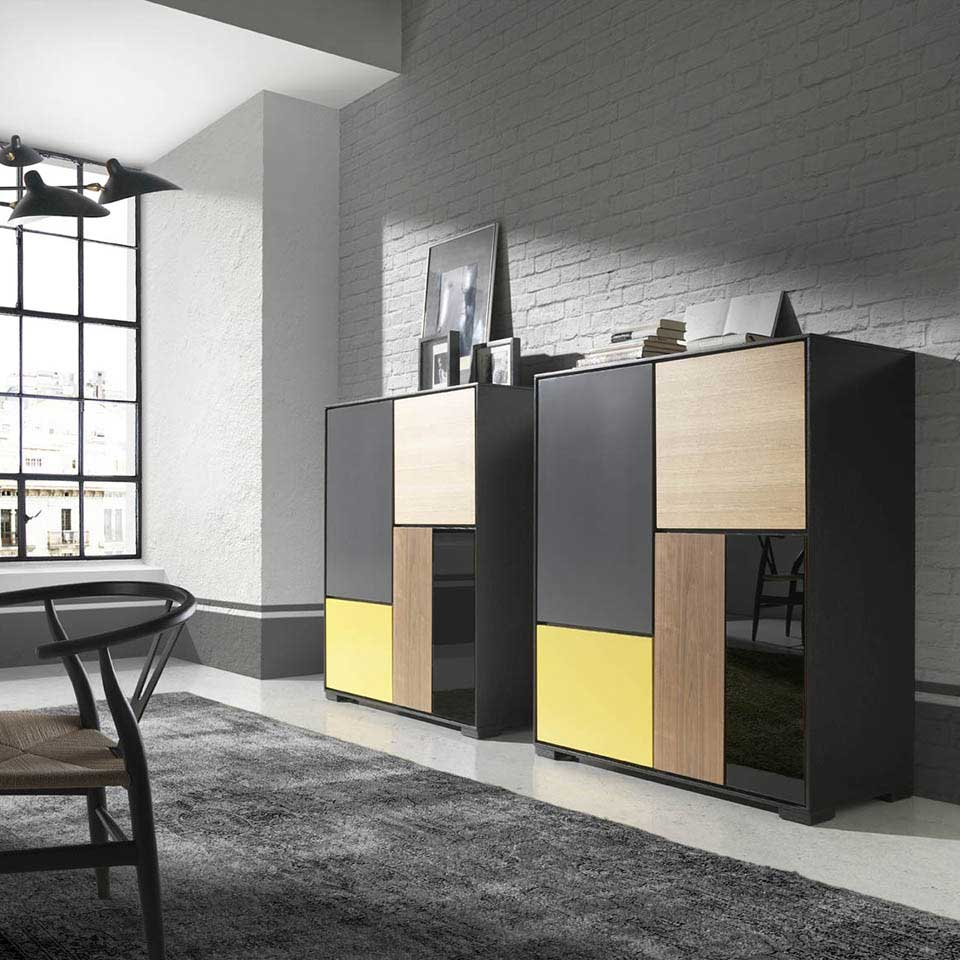 Muebles bidasoa en irun vende mueble auxiliar moderno for Mueble auxiliar moderno