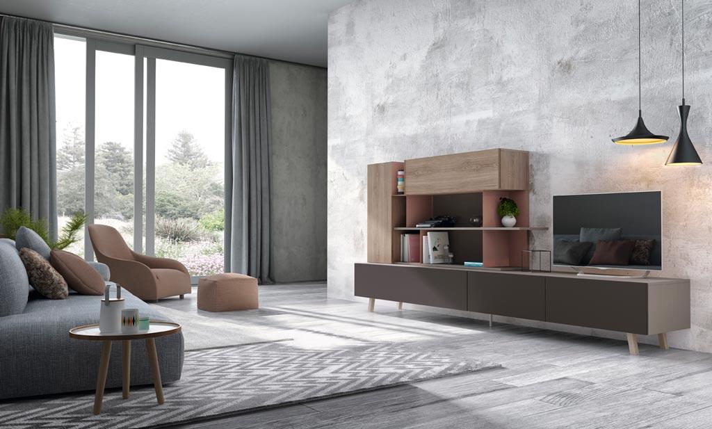 Muebles bidasoa en irun vende muebles de sal n modernos for Mueble moderno salon